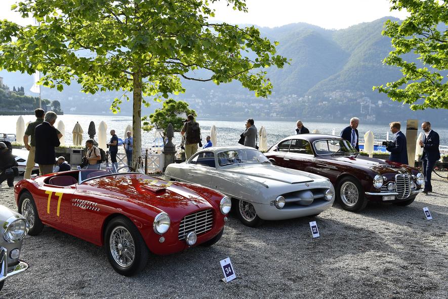 The Concorso d'Eleganza Villa d'Este