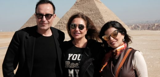 THE SECRET OF HERMES BY THE PYRAMIDS