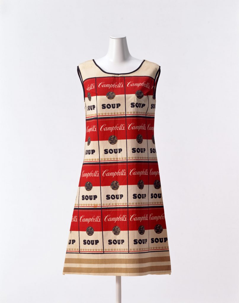 Andy Warhol's Souper dress