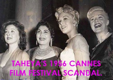 WHEN TAHEYA CARIOCA THREW HER SHOE AT SUSAN HAYWARD