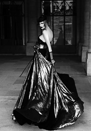 fashion shoot on Place Vendom