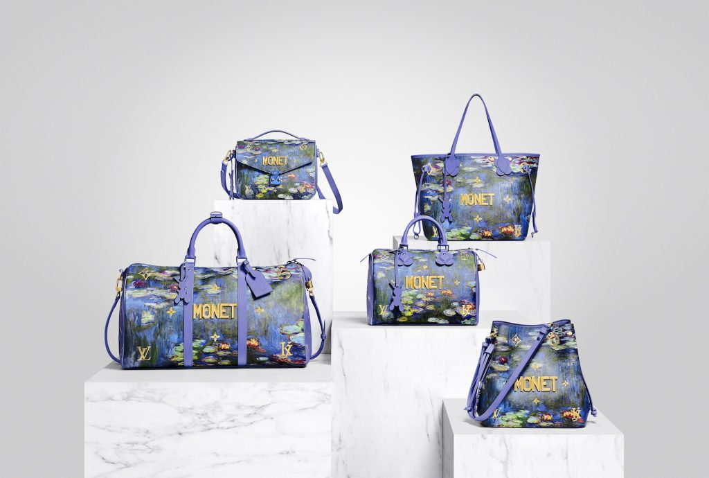 Jeff Koons for Louis Vuitton handbags
