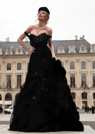 fashion shoot in Paris