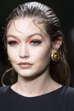 Gigi Hadid at Versace