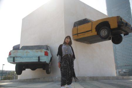 Nouf Sufyani Under the Abbaya