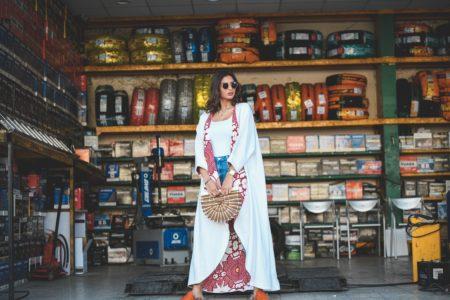 Sara Al Maghrabi Under the Abbaya
