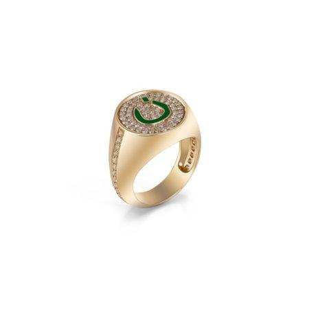 Nadine Kanso pinky ring