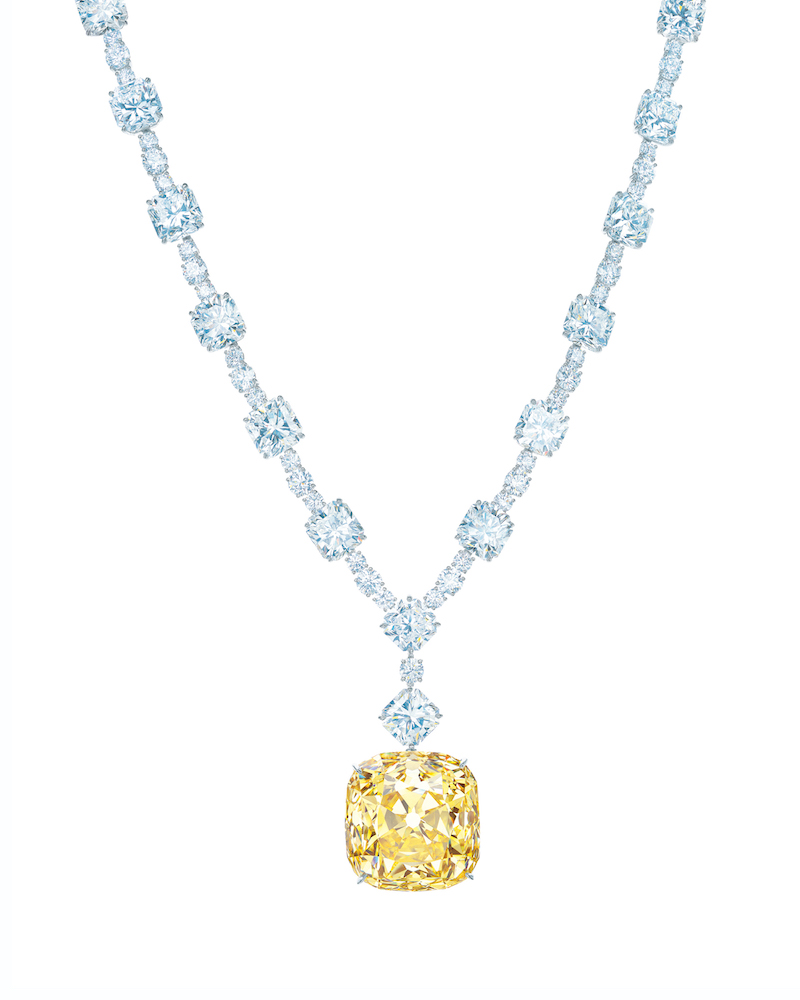 Tiffany Yellow Diamond necklace.