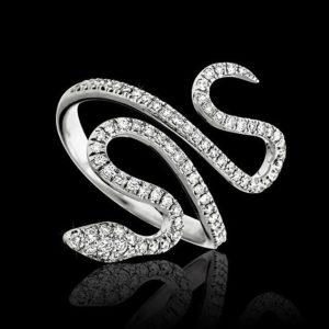 Messika snake bracelet