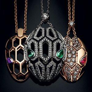 Bulgari serpenti necklace