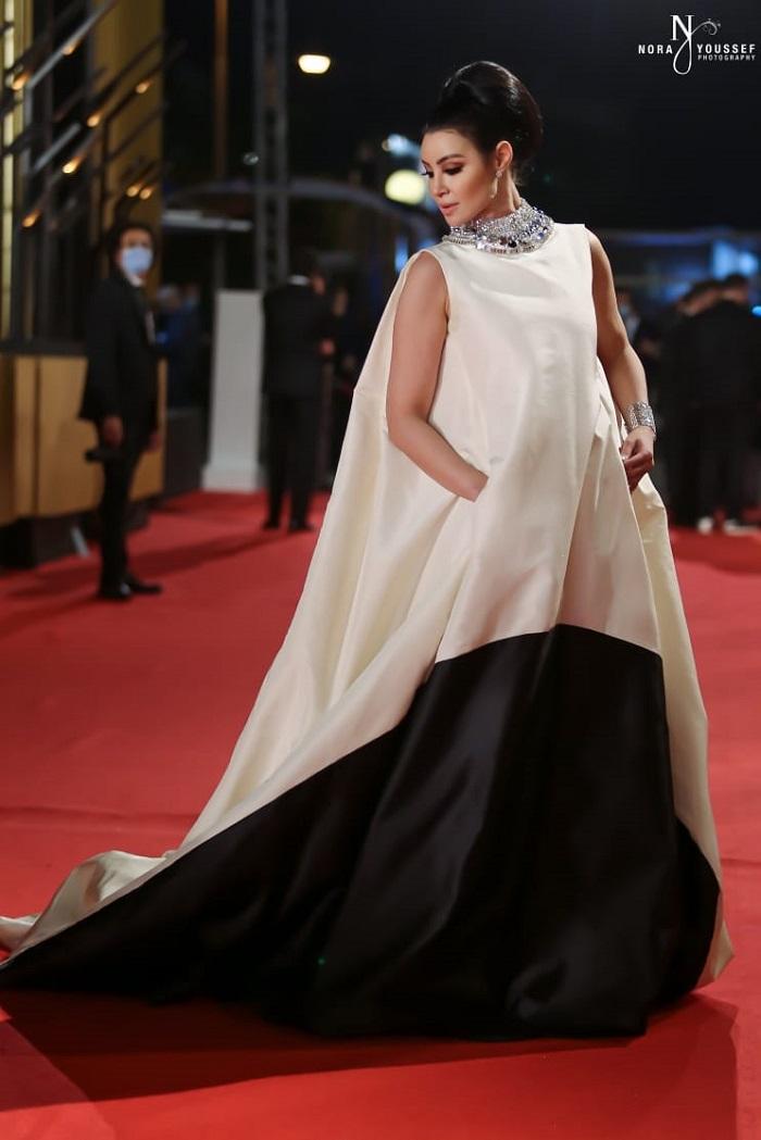 Arwa Gouda red carpet looks