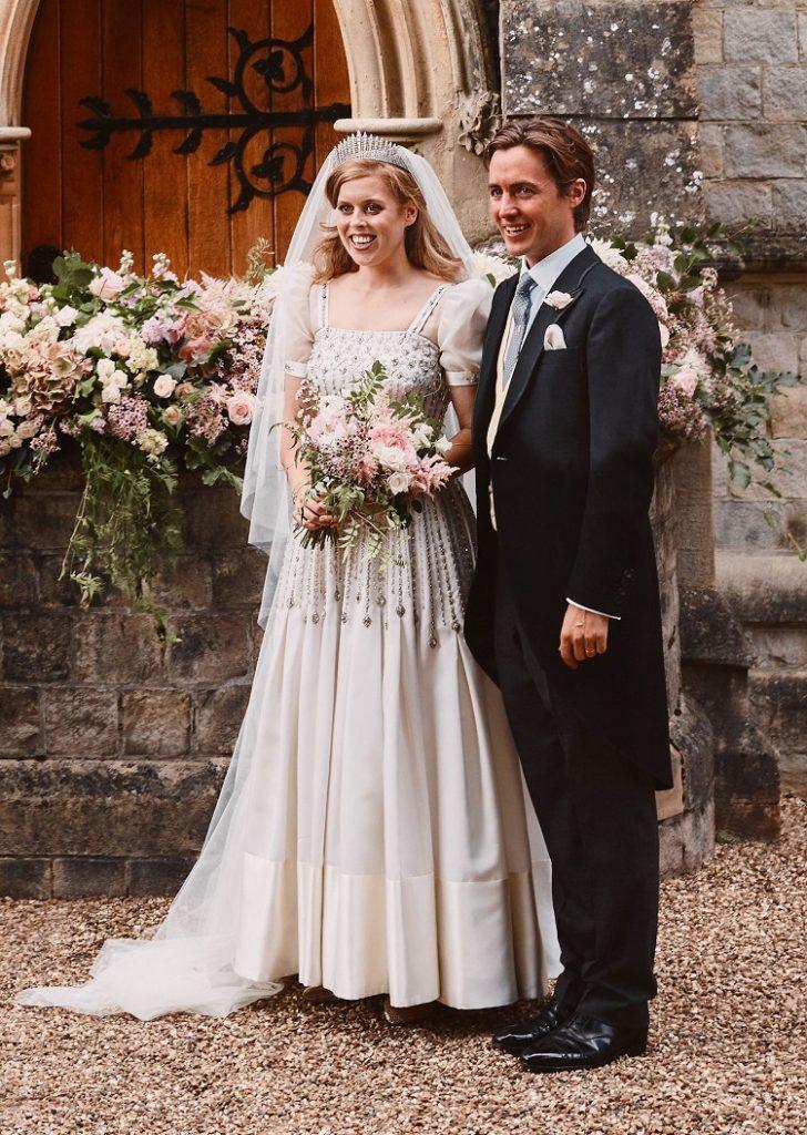 Princess Beatrice wedding gown
