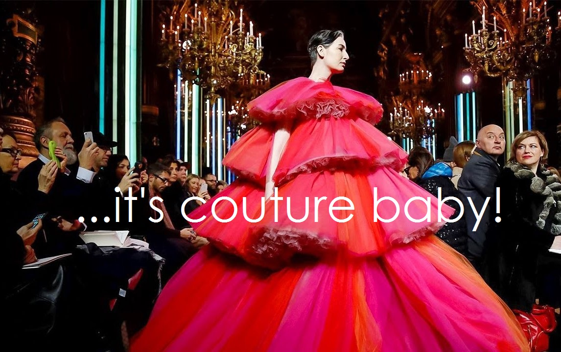 IT'S COUTURE & ITS FOR EVERYONE!