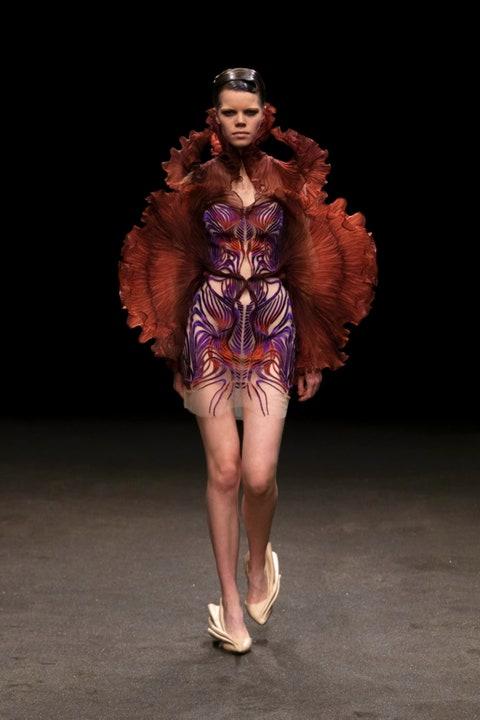 Iris Van Herpen haute couture ss21.