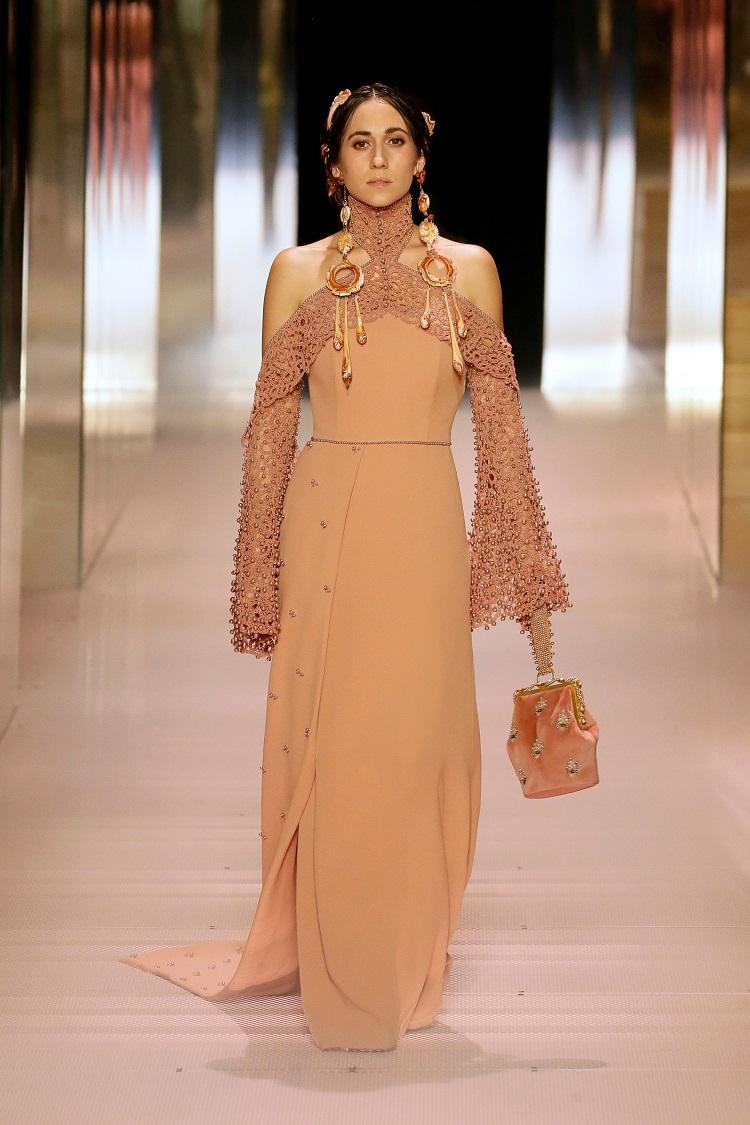 Fendi couture Paris .