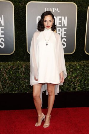 Best red carpet looks at the Golden Globes.