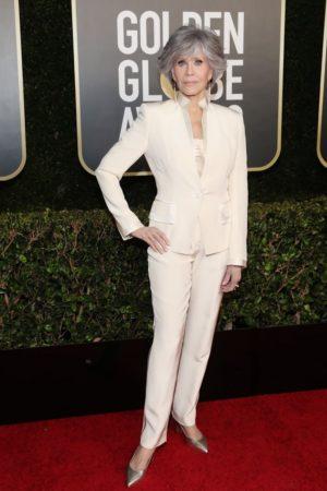 Jane Fonda Golden Globes.
