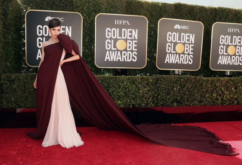 THE BEST DRESSED STARS AT THE GLOBES