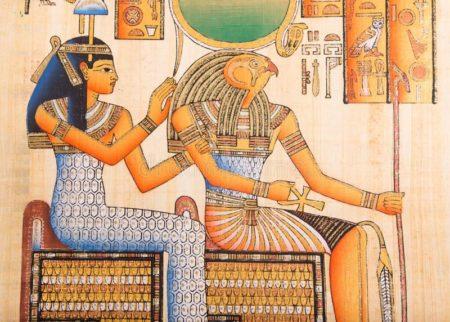 Horus and Cleopatra.