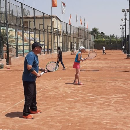 Tennis for charity