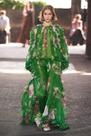 Valentino maxi dresses for ss21.